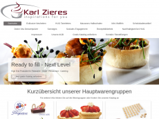 Screenshot der Domain tartelettes.de
