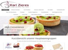 Screenshot von tartelettes.de