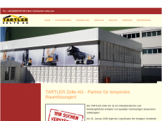 Screenshot der Domain tartler-zelte.com