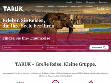 Screenshot der Domain taruk.com