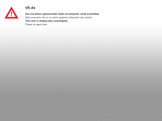 Screenshot der Domain tifi.de