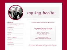 Screenshot der Domain top-log-berlin.de