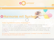 Screenshot der Domain urmoor.de