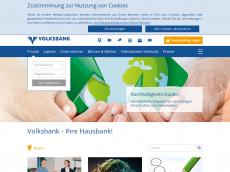 Screenshot der Domain volksbank.at