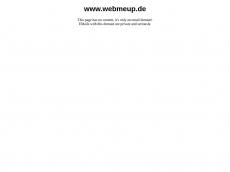 Screenshot der Domain webmeup.de
