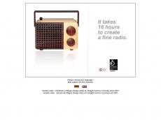 Screenshot der Domain wooden-radio.com