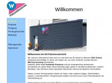 Screenshot der Domain wpraez.de