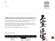 Screenshot der Domain zen-bonn.de