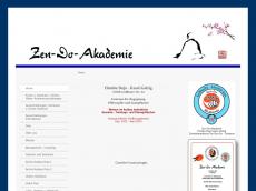 Screenshot von zen-do-akademie.de