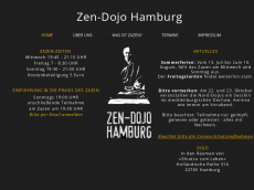 Screenshot von zen-dojo-hamburg.de