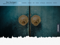Screenshot der Domain zen-stuttgart.com