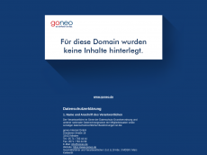 Screenshot der Domain zenger.biz