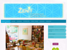 Screenshot der Domain zenit-buch.de