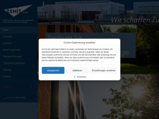Screenshot der Domain zenit-magdeburg.de