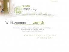 Screenshot der Domain zenith-hh.de
