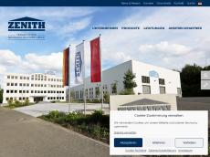 Screenshot von zenith.de