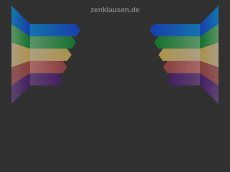 Screenshot der Domain zenklausen.de