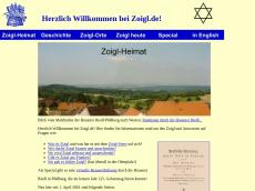 Screenshot der Domain zoigl.de